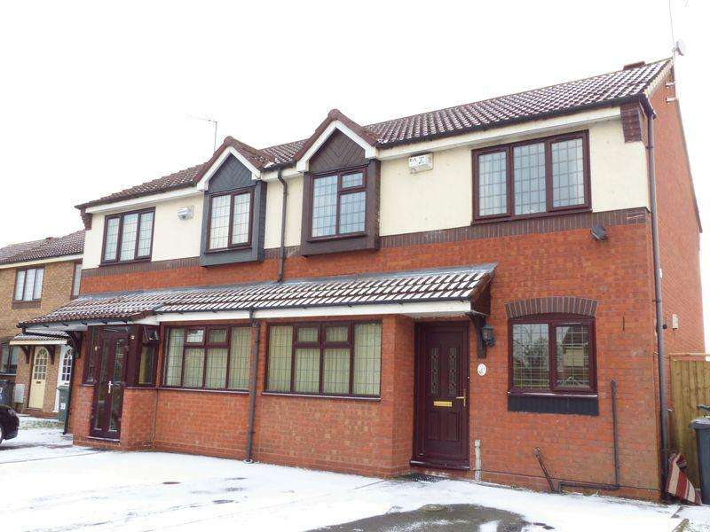 3 Bedrooms Semi Detached House for sale in Grand Junction Way, Walsall
