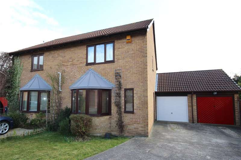 3 Bedrooms Semi Detached House for sale in Boursland Close Bradley Stoke Bristol BS32