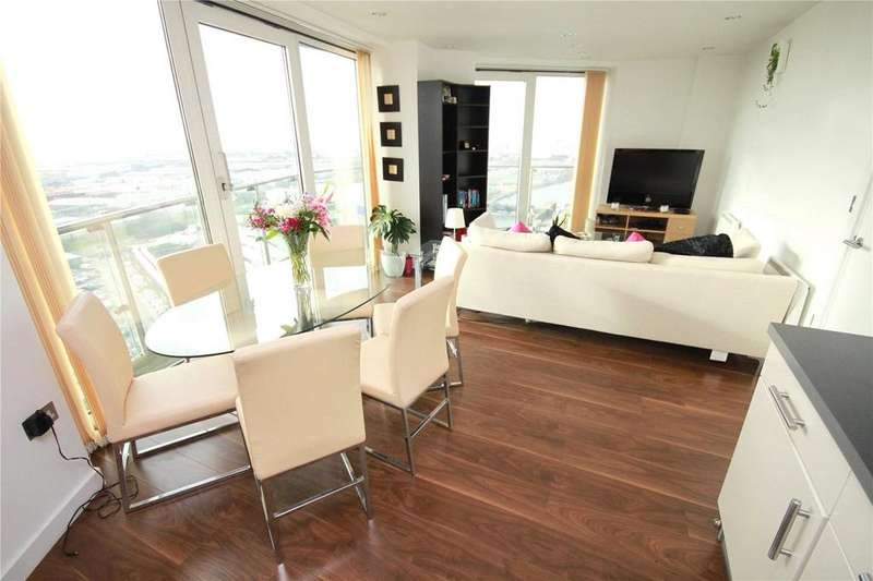 2 Bedrooms Flat for sale in TheHeart, MediaCityUK, Salford Quays, M50