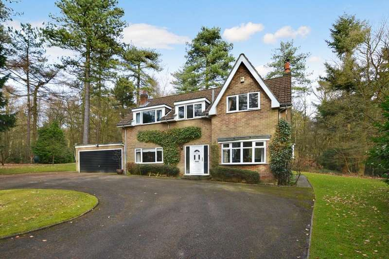 3 Bedrooms Detached House for sale in Haggnook Wood, Ravenshead