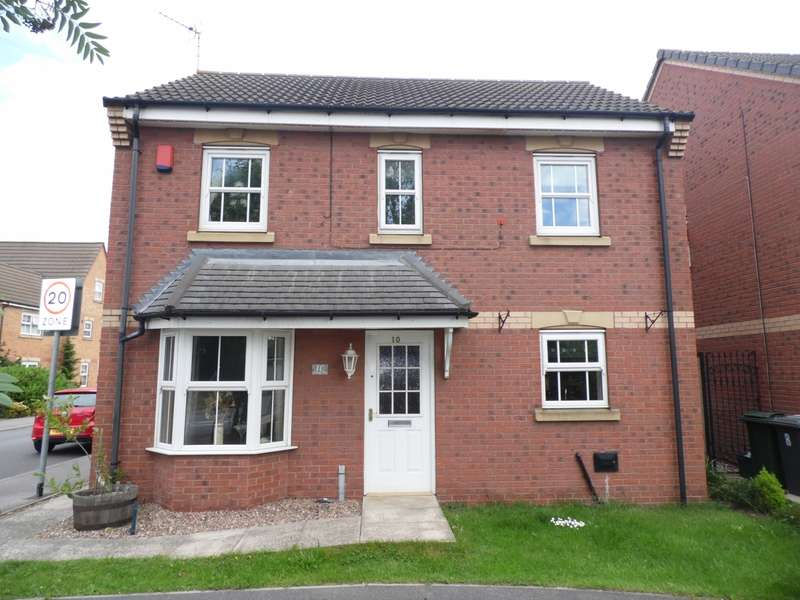 4 Bedrooms Detached House for sale in Nunnington Way Kirk Sandall Doncaster
