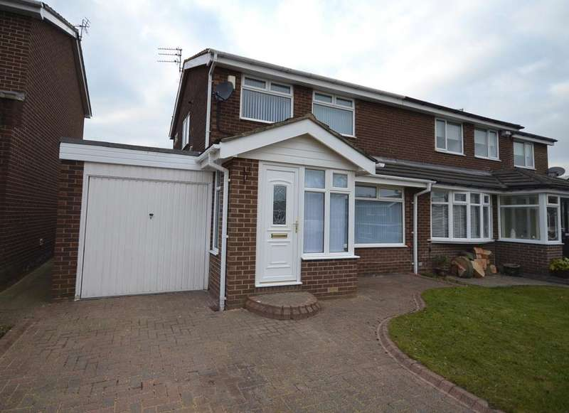 3 Bedrooms Semi Detached House for sale in Kingston Park