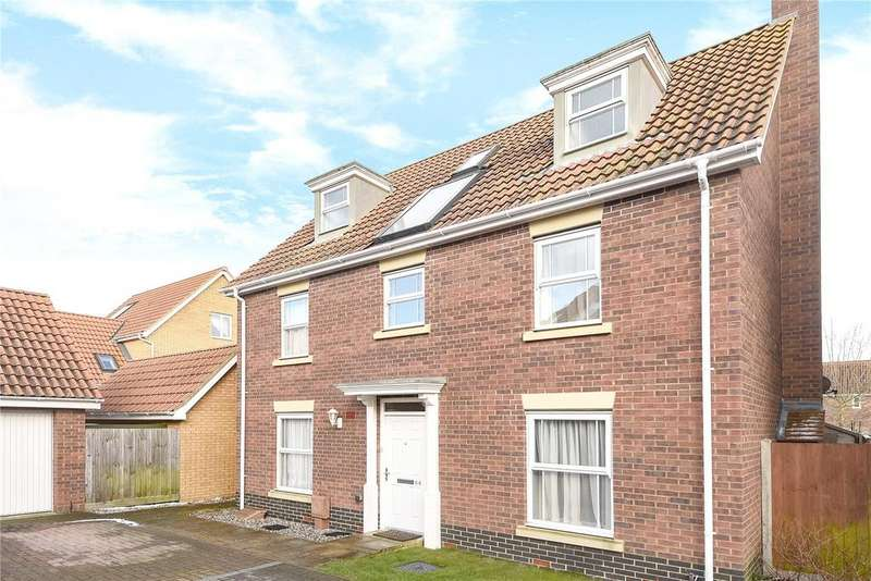 6 Bedrooms Detached House for sale in Bullfinch Drive, Harleston, Norfolk