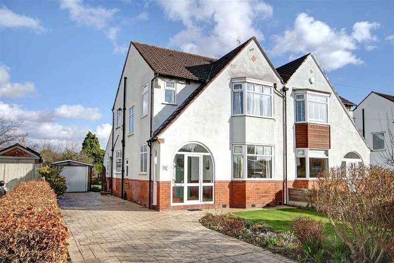 3 Bedrooms Semi Detached House for sale in Mossgrove Road, Timperley, Cheshire