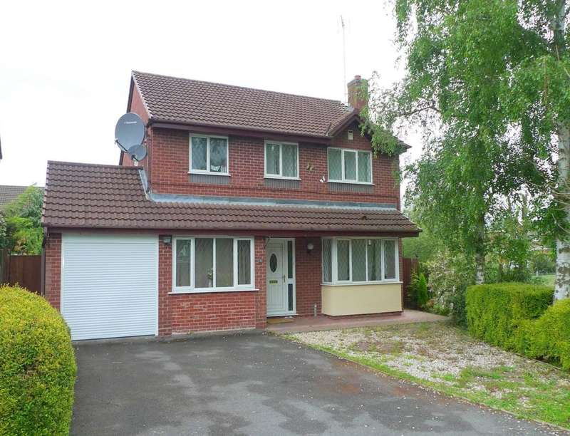 3 Bedrooms Detached House for rent in Darwin Close, Stafford, ST16