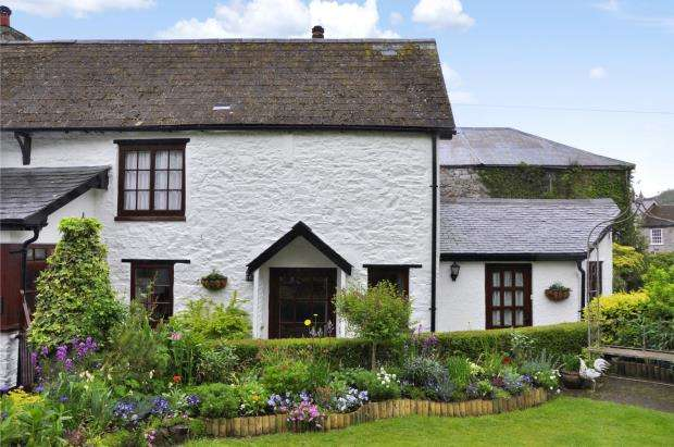 2 Bedrooms End Of Terrace House for sale in Elliott Plain, Buckfastleigh, Devon