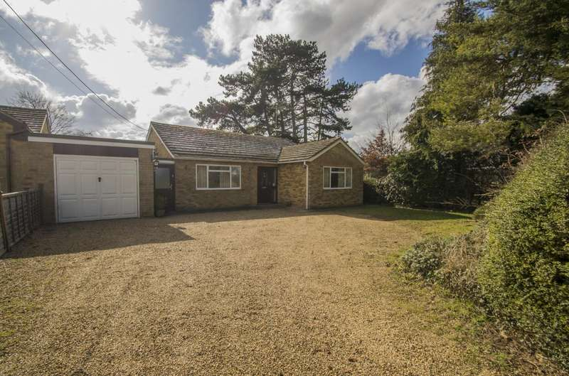 3 Bedrooms Detached Bungalow for sale in Ferry Road, South Stoke, Reading, RG8