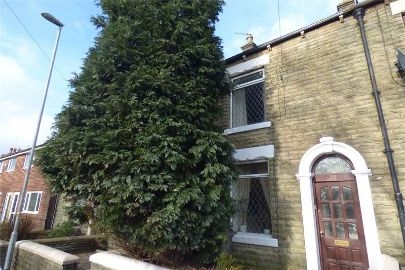 2 Bedrooms Terraced House for sale in Rhodes Hill, Lees, Oldham, Greater Manchester, OL4