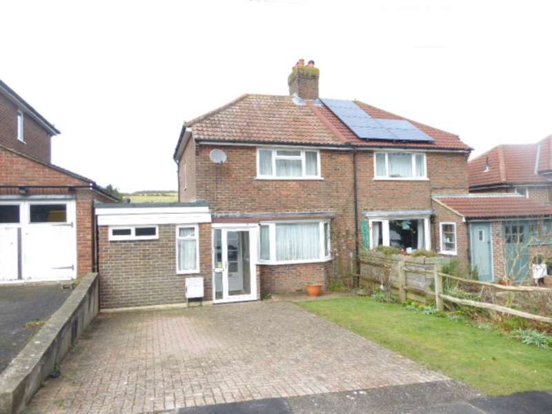 4 Bedrooms Semi Detached House for sale in Highdown Road, Lewes