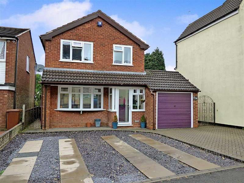 3 Bedrooms Detached House for sale in Stafford Street, Cannock, Staffordshire