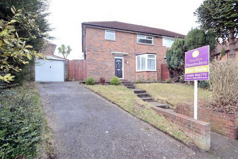 3 Bedrooms Semi Detached House for sale in Tillingbourne Green, Orpington, Kent