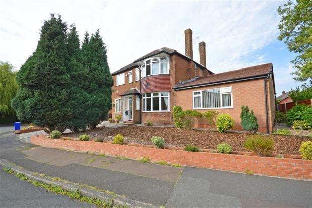 5 Bedrooms Detached House for sale in Calve Croft Road, Peel Hall, Manchester, M22