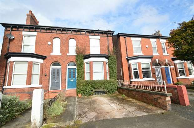 4 Bedrooms Semi Detached House for sale in Beech Road, Cale Green, Stockport, Cheshire