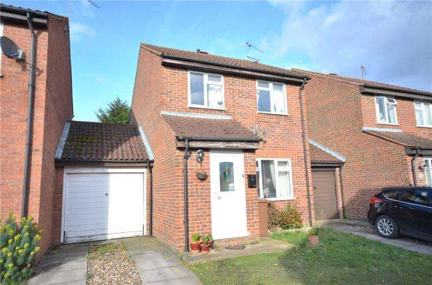 3 Bedrooms Link Detached House for sale in Cross Gates Close, Bracknell, Berkshire