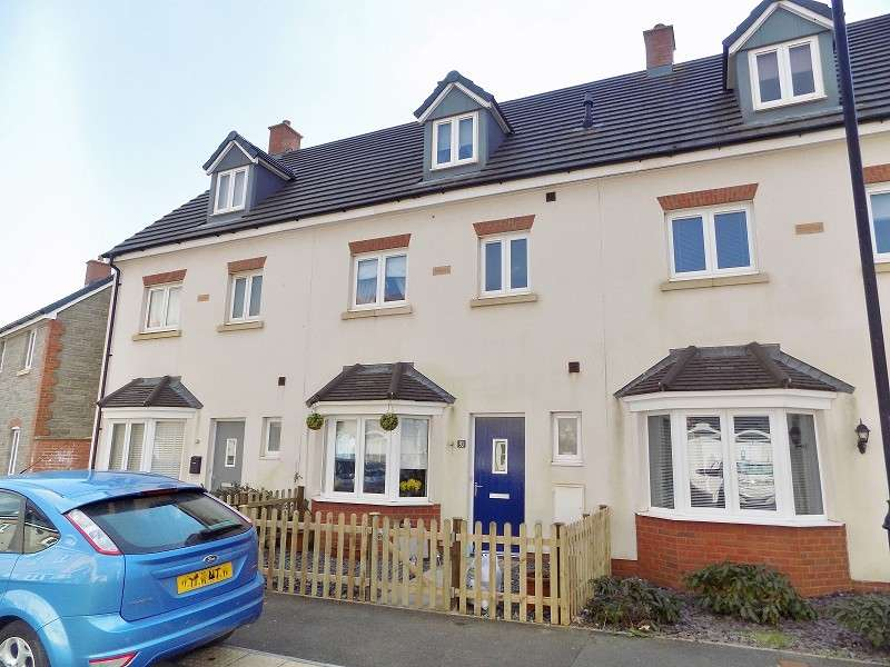 4 Bedrooms Town House for sale in Ffordd Y Draen , Coity, Bridgend. CF35 6FQ
