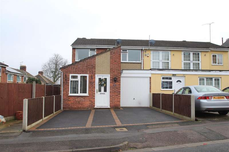 3 Bedrooms Semi Detached House for sale in Clarefield Road, Leicester