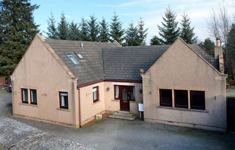 4 Bedrooms Detached House for sale in Crooksmill Lodge, Keith, Keith, Moray, AB55