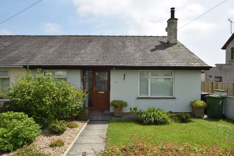 2 Bedrooms Semi Detached Bungalow for rent in Moorgarth, Swarthmoor, Ulverston, Cumbria, LA12 0HX