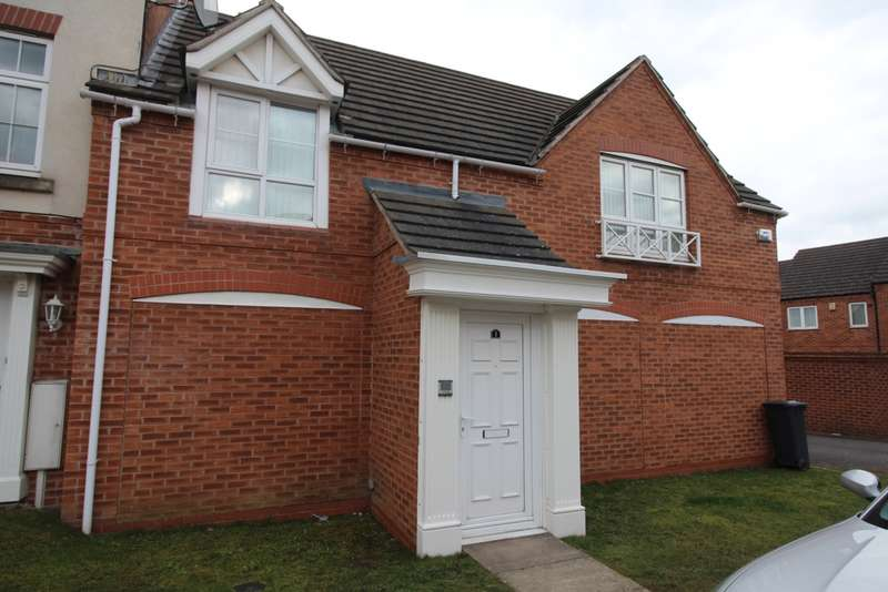 2 Bedrooms Flat for rent in Carty Road, Hamilton, LE5