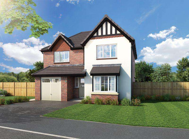 4 Bedrooms Detached House for sale in Plot 10, The Rusland, Walton Gardens, Liverpool Road, Hutton