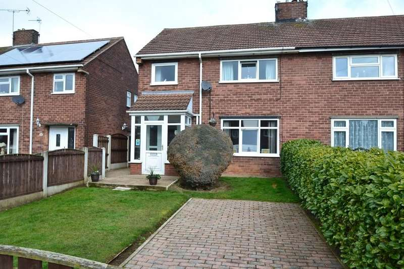 3 Bedrooms Semi Detached House for sale in Rose Avenue, Upton, Pontefract