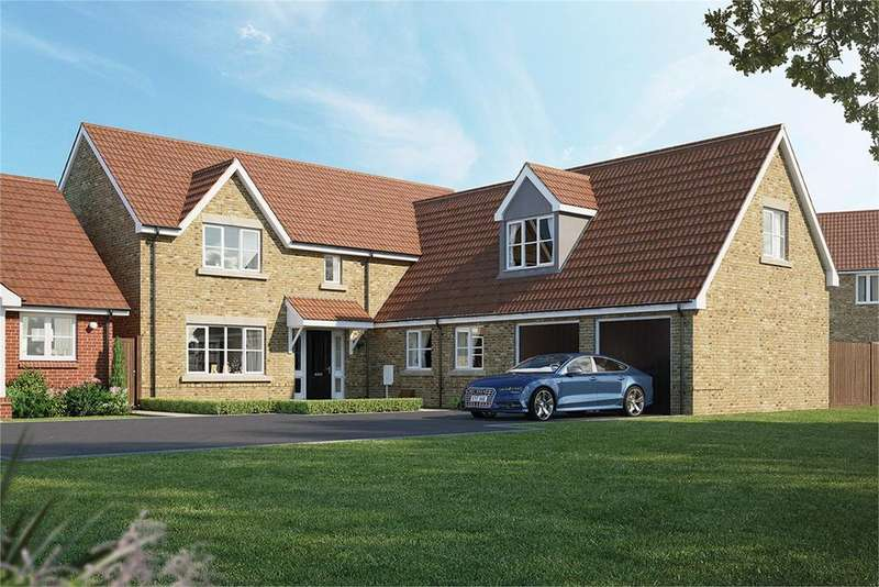 5 Bedrooms Detached House for sale in Meadow Croft, Chapel End Road, Houghton Conquest, MK45
