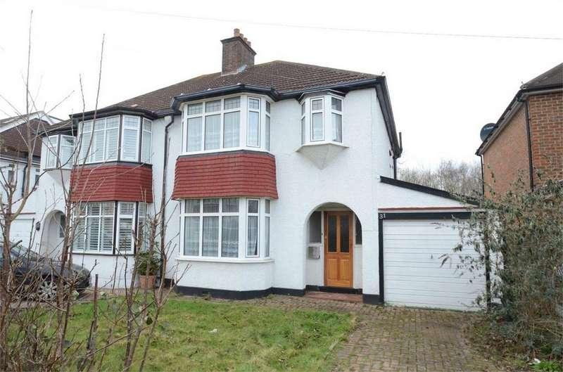 3 Bedrooms Semi Detached House for sale in Ridgemount Avenue, Shirley, Croydon, Surrey