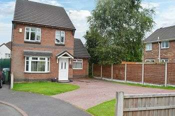 3 Bedrooms Detached House for sale in Whistlecroft Court, Lower Ince, Wigan, WN3 4RW