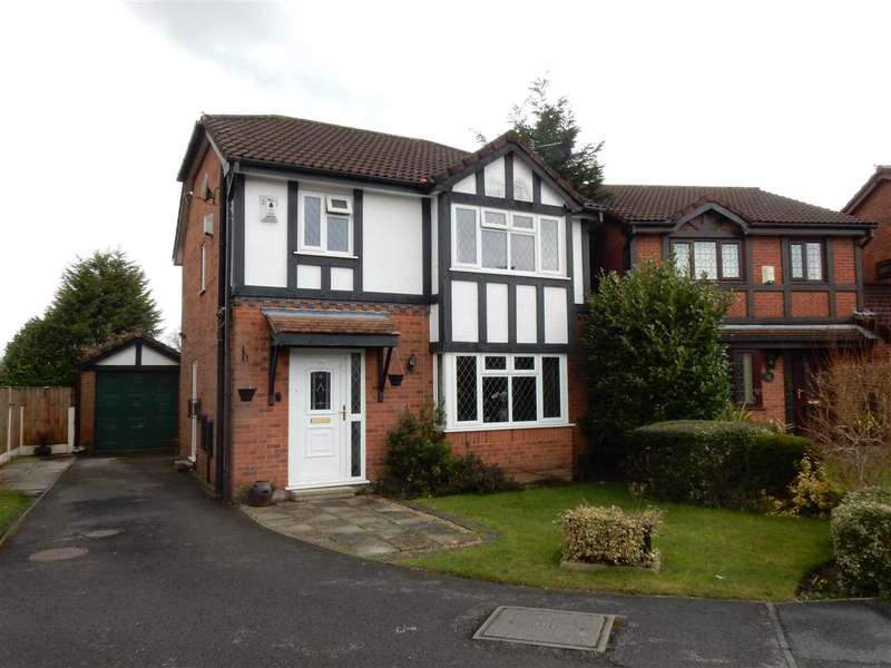 3 Bedrooms Detached House for sale in Norbeck Close, Warrington