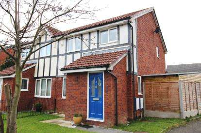 3 Bedrooms End Of Terrace House for sale in Storeton Close, Wythenshawe, Manchester