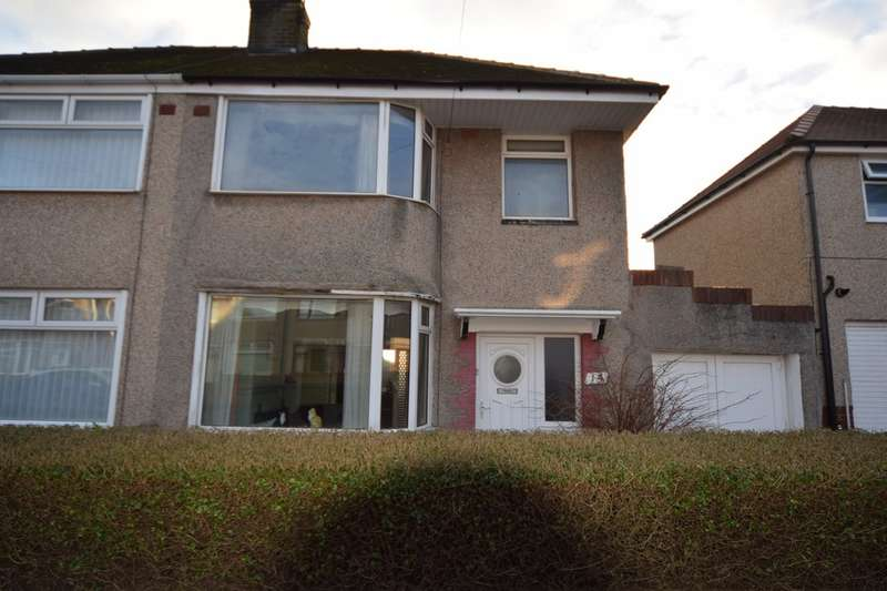 3 Bedrooms Semi Detached House for sale in Maryport Avenue, Walney, Cumbria, LA14 3LR