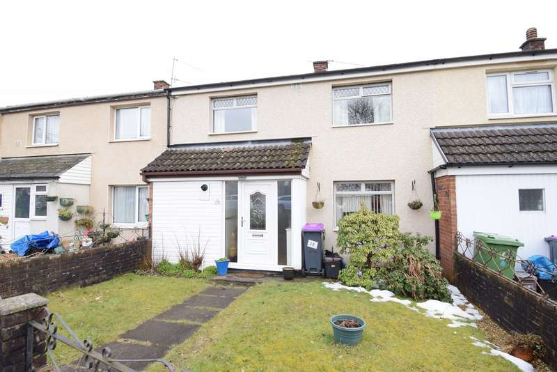 2 Bedrooms Terraced House for sale in Llewellyn Road, Cwmbran, NP44