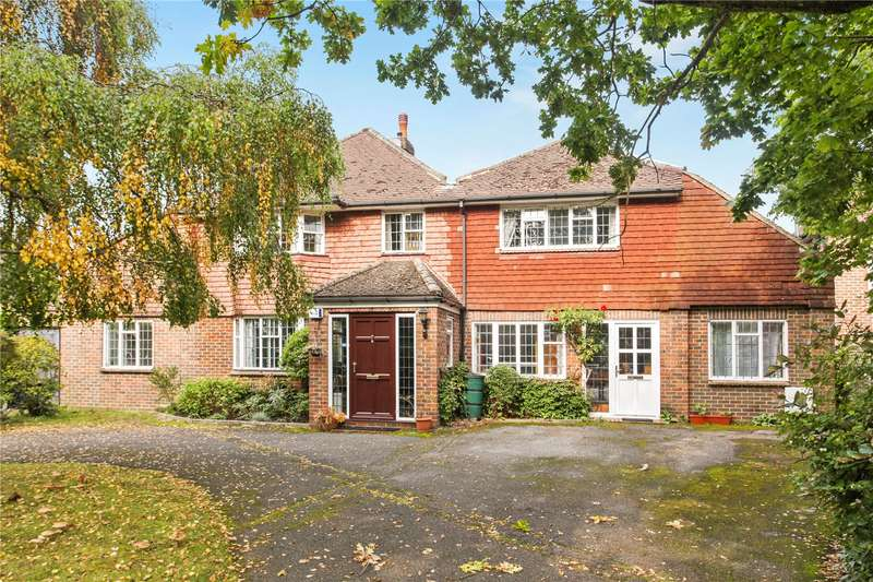 5 Bedrooms Detached House for sale in Boughton Hall Avenue, Send, Woking, Surrey, GU23