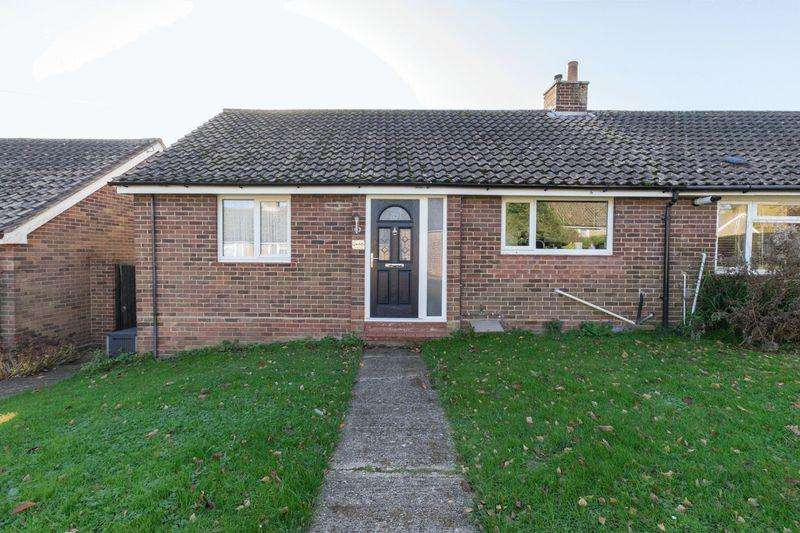 2 Bedrooms Semi Detached Bungalow for sale in Carleton Road, Chichester, PO19