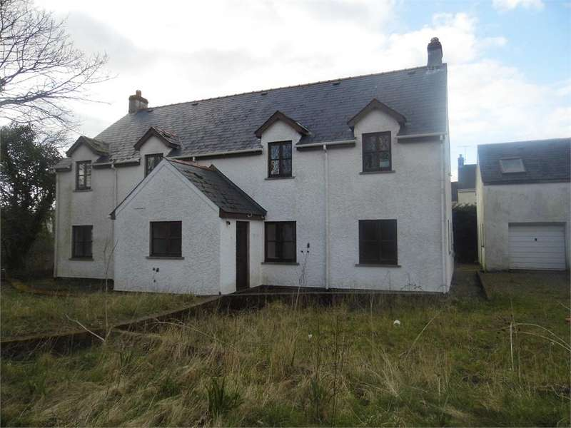 5 Bedrooms Detached House for sale in Fox Meadow, Scleddau, Fishguard, Pembrokeshire