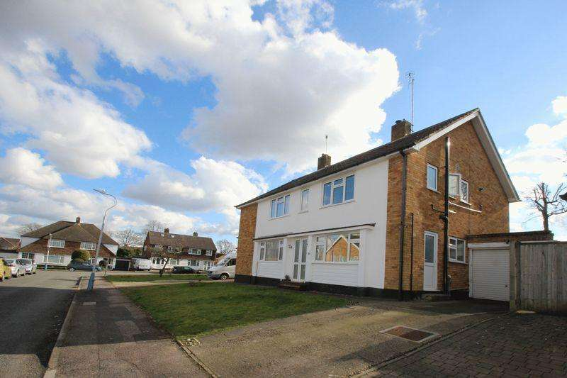 3 Bedrooms Semi Detached House for sale in Silverhurst Drive, Tonbridge
