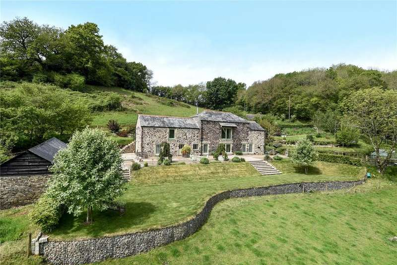 4 Bedrooms Detached House for sale in Lawhitton, Launceston, Cornwall, PL15