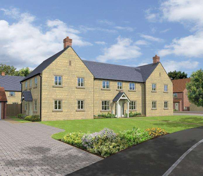 3 Bedrooms Semi Detached House for sale in Guildford, Hanborough Gate, Long Hanborough, Witney, Oxfordshire