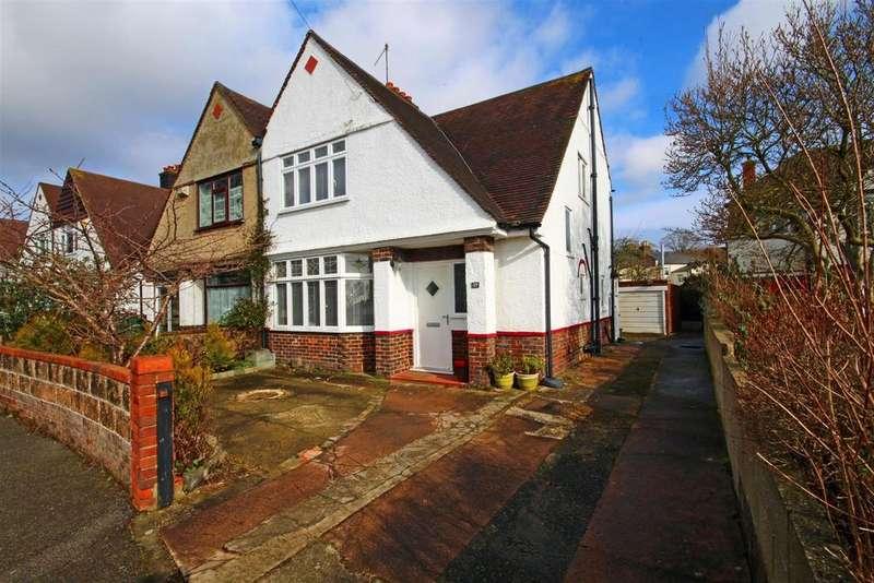 3 Bedrooms Semi Detached House for sale in Windlesham Close, Portslade Village, Brighton