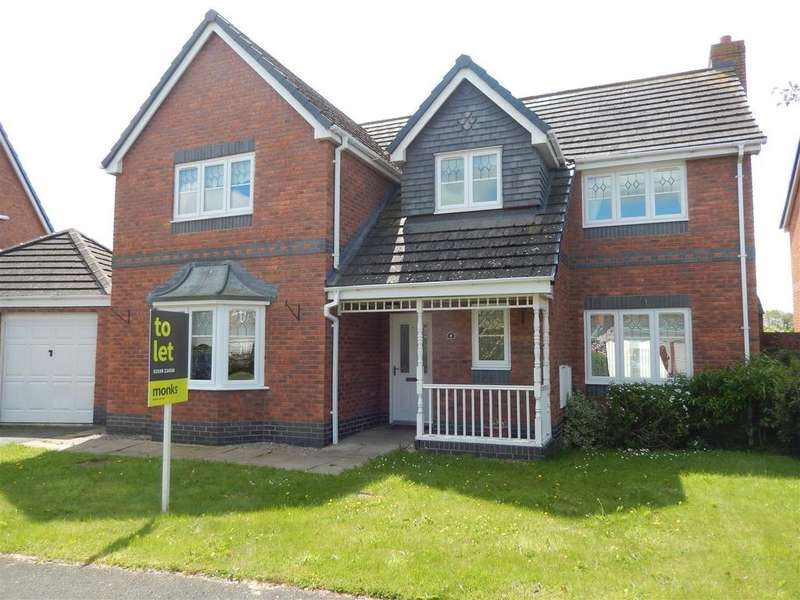 4 Bedrooms Detached House for rent in 9 Swain Close, Wem, Shrewsbury