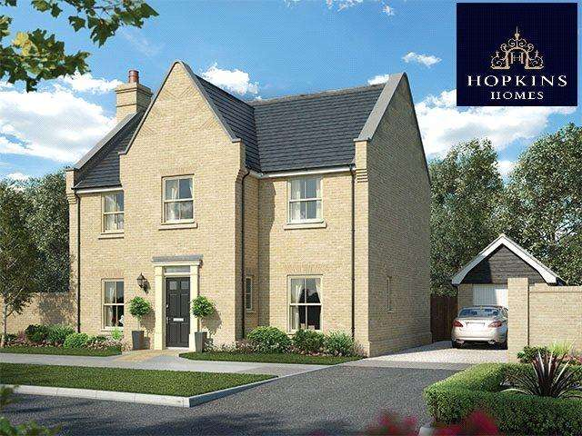 4 Bedrooms Detached House for sale in Alconbury Weald, Alconbury, Huntingdon, Cambridgeshire, PE28
