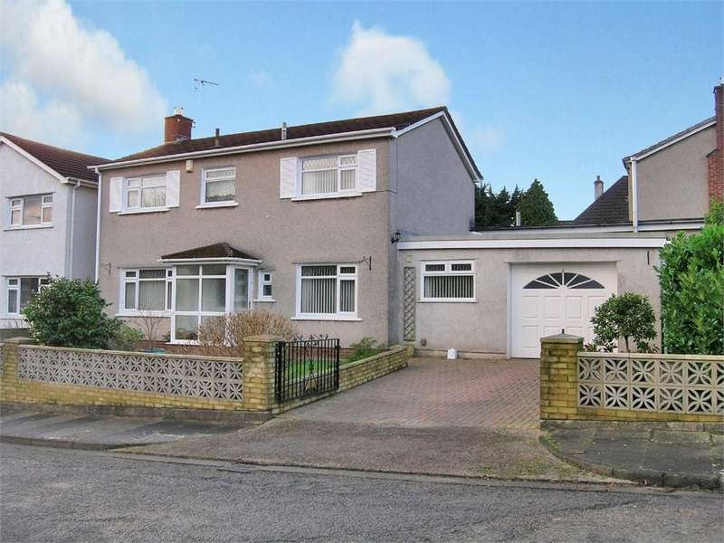 4 Bedrooms Detached House for sale in Mill Close, Llanishen, Cardiff