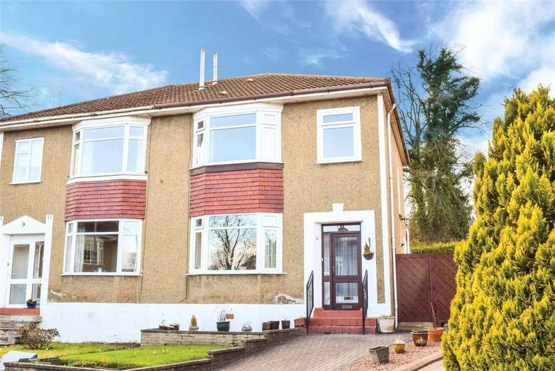 3 Bedrooms Semi Detached House for sale in Hillfoot Drive, Bearsden, Glasgow