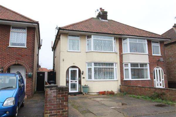 3 Bedrooms Semi Detached House for sale in Theberton Road, Ipswich