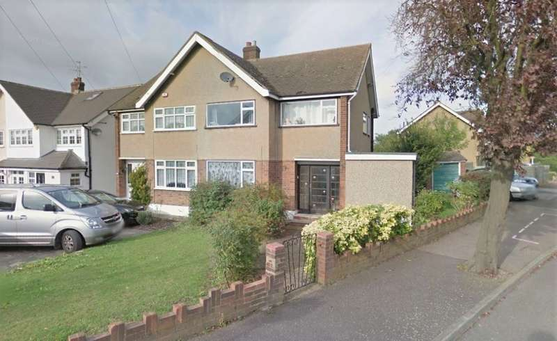 3 Bedrooms Semi Detached House for sale in Essex Gardens, Hornchurch