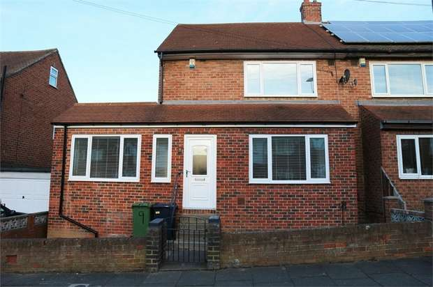 2 Bedrooms Semi Detached House for sale in Townsend Road, Sunderland, Tyne and Wear