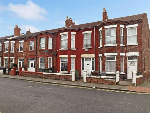 3 Bedrooms Terraced House for sale in Cedar Street, Birkenhead, Merseyside