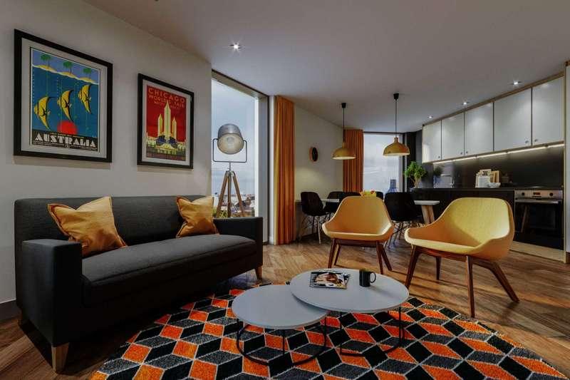 1 Bedroom Studio Flat for sale in Norton Street, Liverpool City Centre