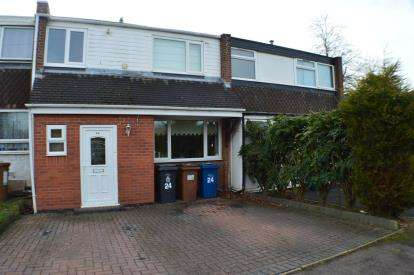3 Bedrooms Terraced House for sale in Gilbert Road, Off Netherstowe, Lichfield, Staffordshire