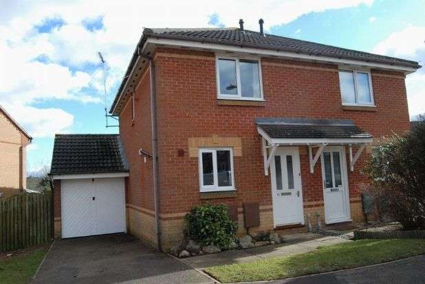 2 Bedrooms Semi Detached House for rent in Elder Drive, Ashby Fields, Daventry NN11 0XE